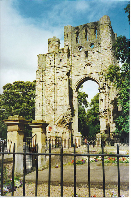 Kelso Abbey.