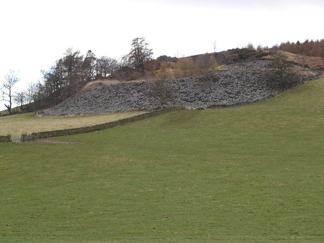 Quarry Workings near Howford Settlement