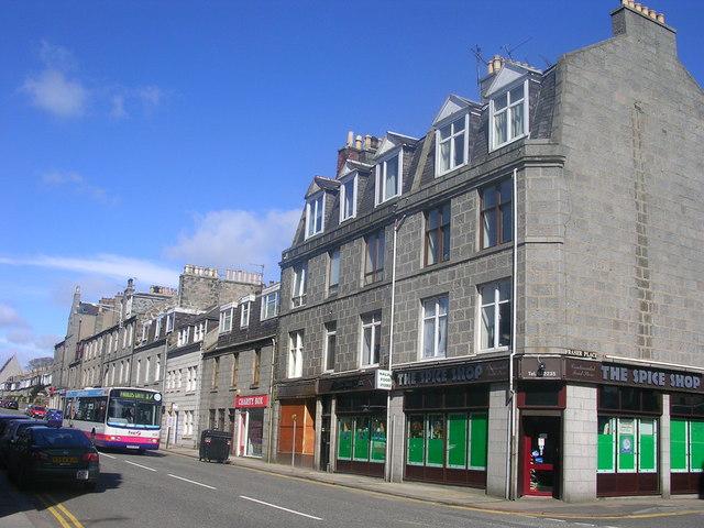 George Street, Aberdeen (nr. Fraser Place)