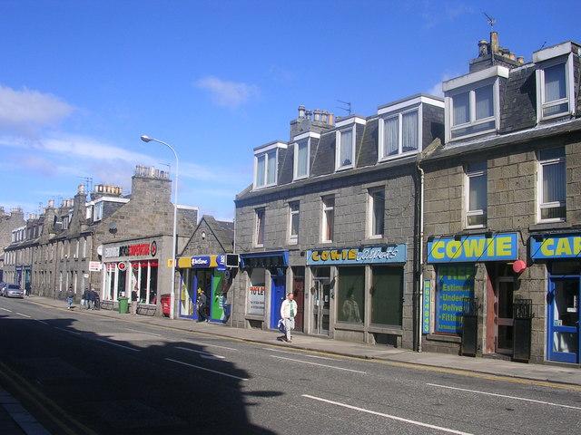 George Street, Aberdeen (nr. Mounthooly)