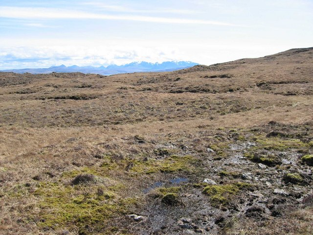 Bog near An Cruachan