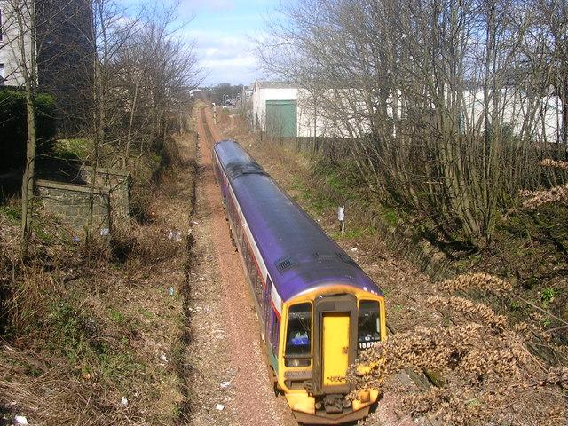 Aberdeen bound train