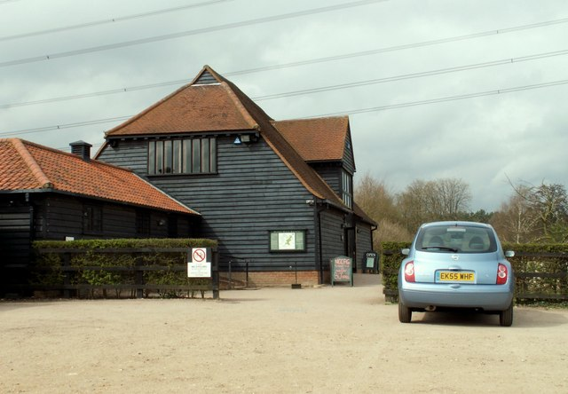 Visitor Centre at Markshall Country Park, Essex