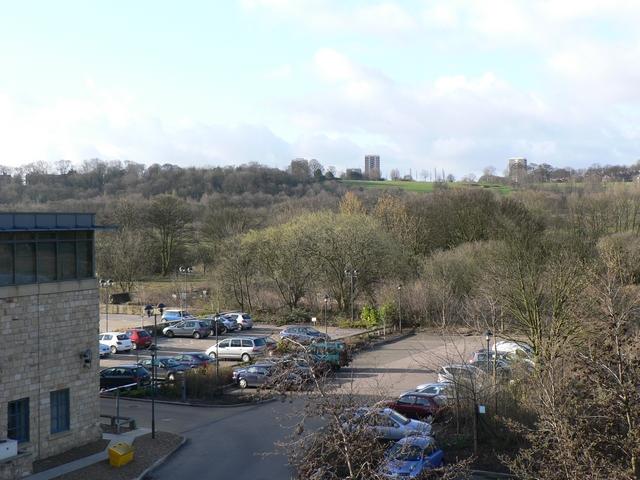 Car Park behind Waterside Court, Kirkstall Road