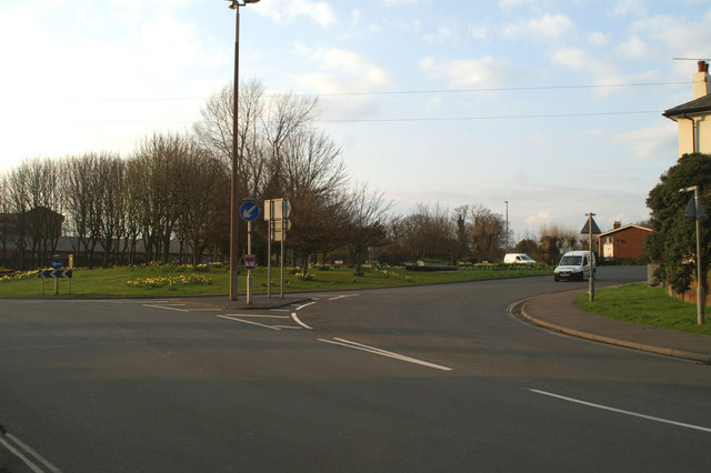 A259/A29 roundabout, South Bersted