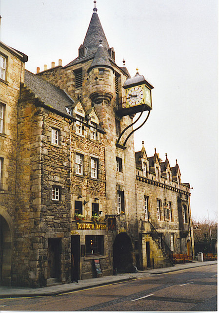 Canongate Tolbooth.