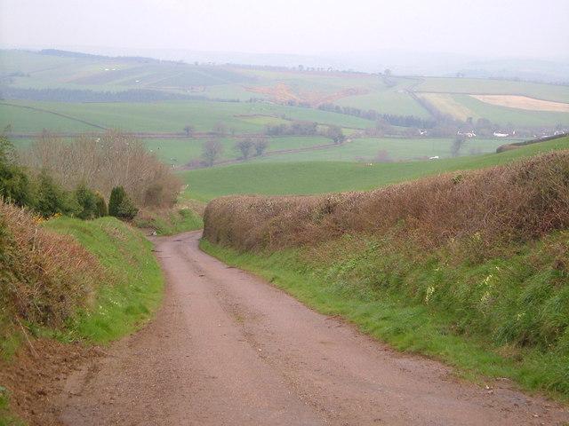 Lane near Dean Prior
