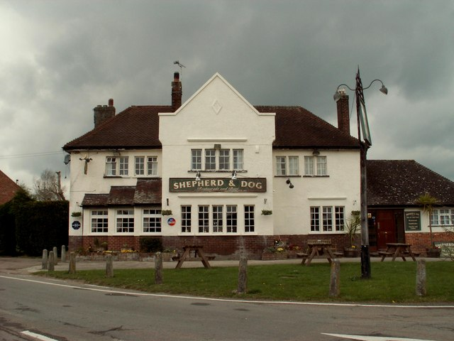 'Shepherd & Dog' public house, Langham, Essex