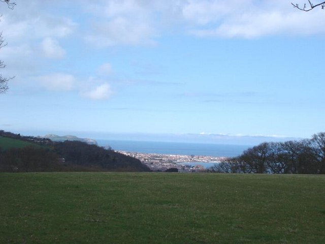 Above Colwyn Bay