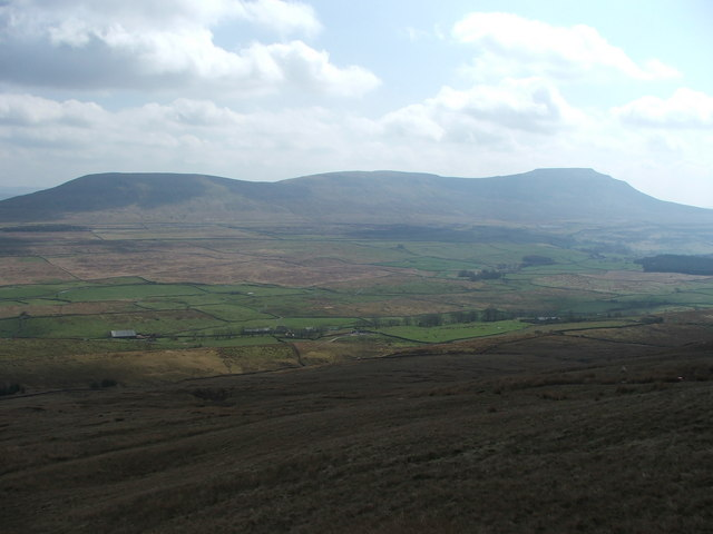 View from the flanks of Whernside.