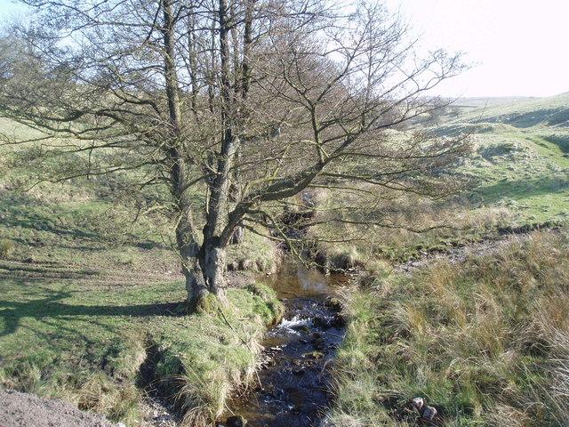 Crag Clough, Middop
