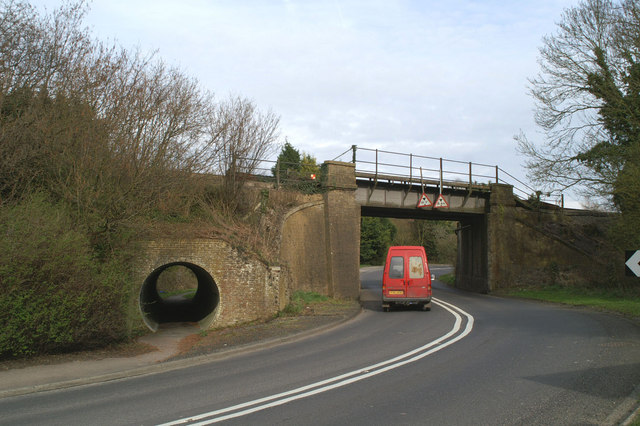 The London-Dover line crosses the old A2