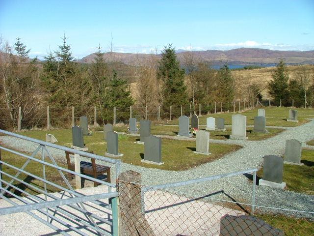Strathaird Cemetery