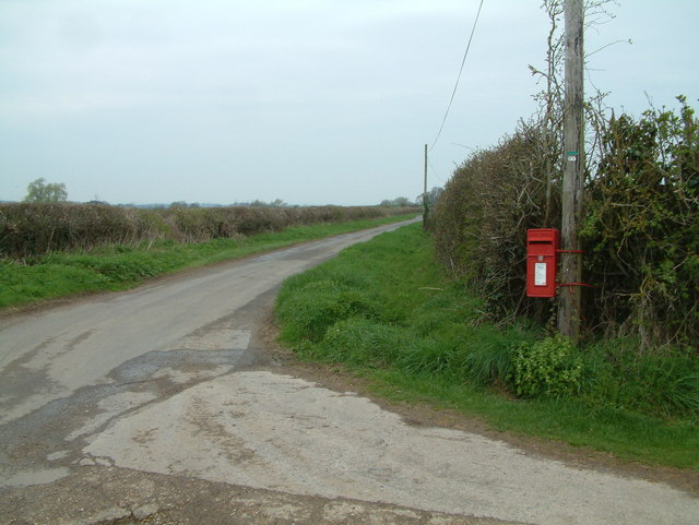 Access road to Barford Farm
