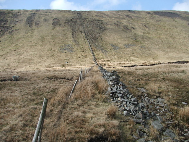 The final ascent to Whernside.