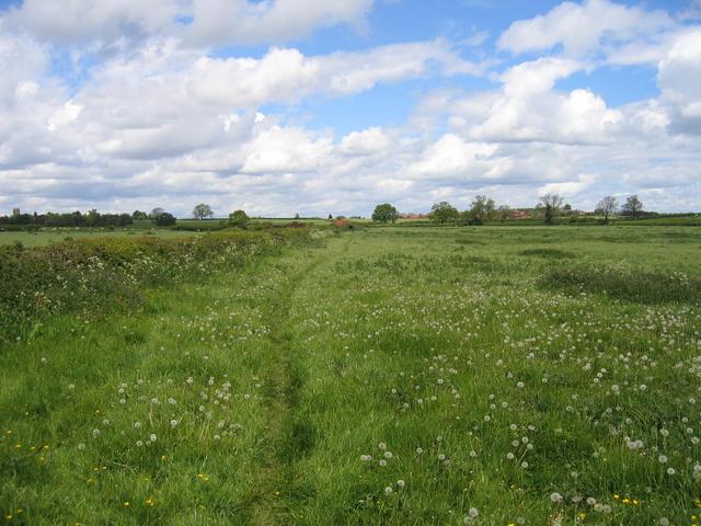 Footpath to Weston under Wetherley
