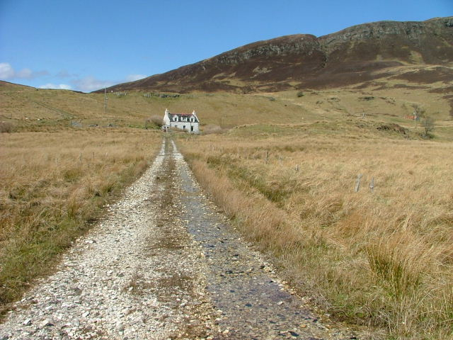 Track Leading to Croft