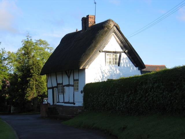 Old thatched cottage, Cubbington