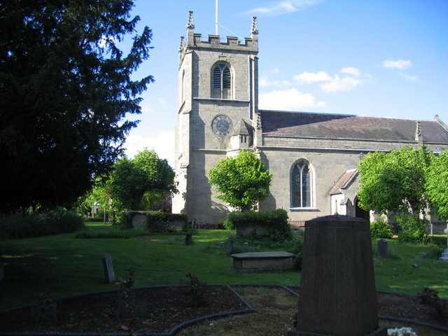 Leek Wootton church
