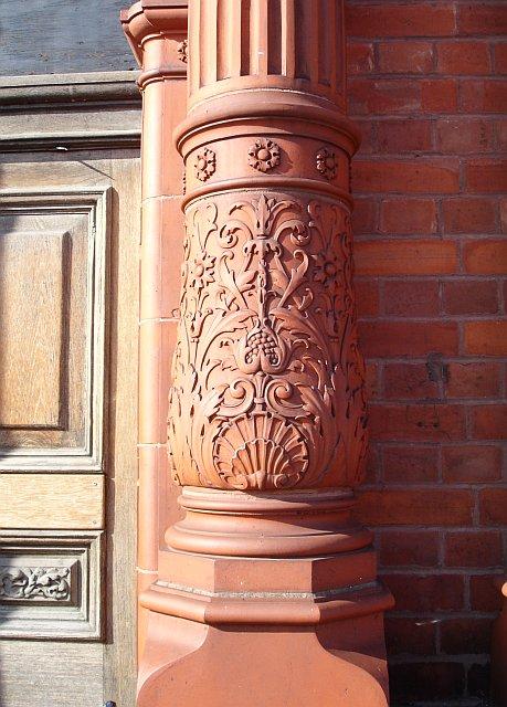 The Custom House, Ramsgate - detail
