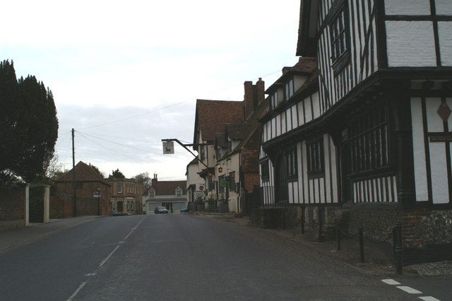 The A257 through Wingham