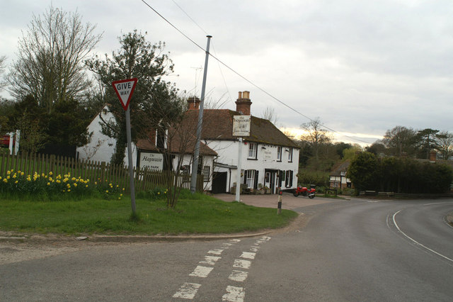 The Haywain at Bramling, on the A257