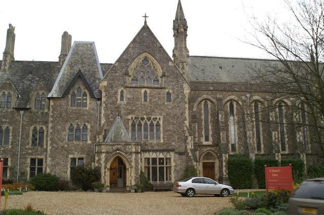 Entrance, St. Edmund's School