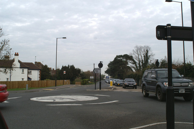 Morning rush-hour on the A290 Whitstable road