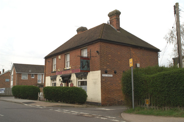 Dog and Bear Pub on Rough Common