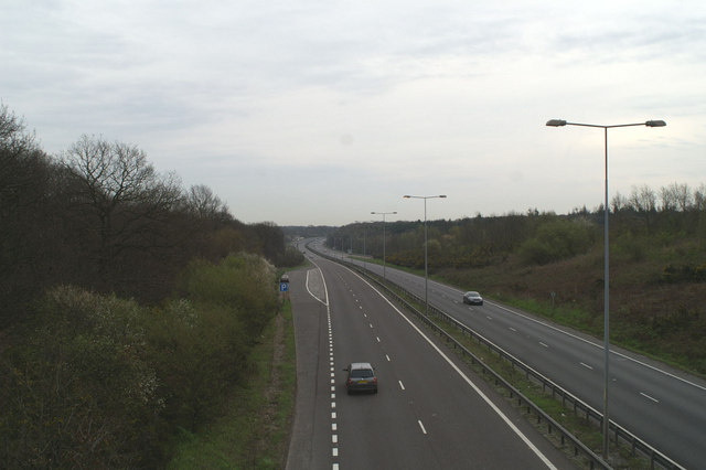 The new A2 above Dunkirk