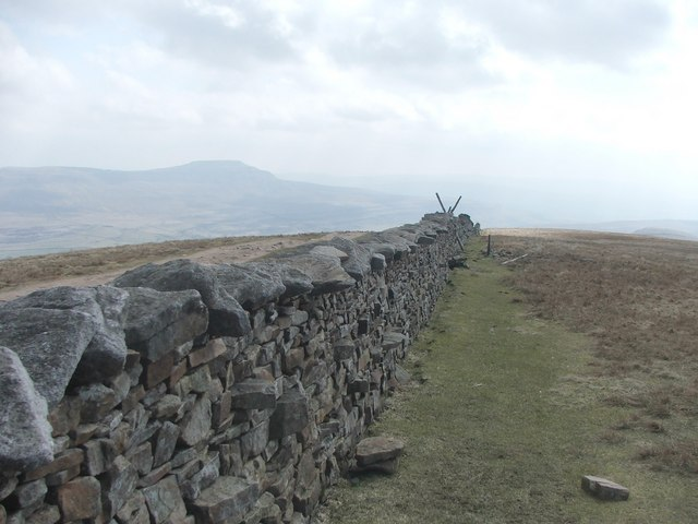 Whernside summit.