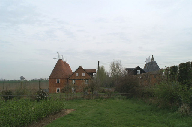 Styles in oast houses