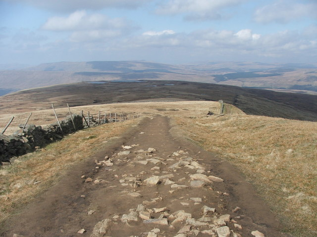 View from Whernside.
