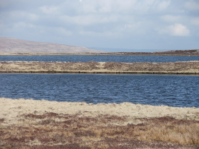The two larger Whernside Tarns.