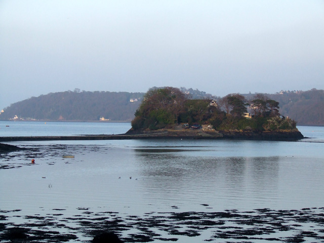 Ynys Castell in the Menai Straits