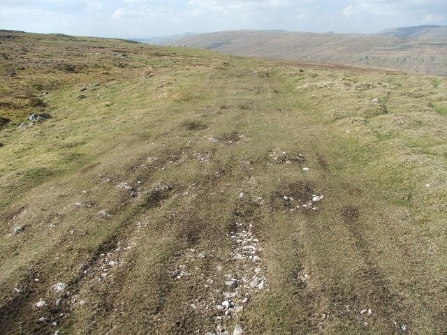 The Craven Way at Fold Gill.