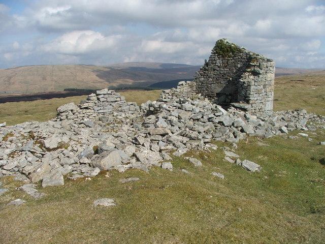 Ruin at Duncan Sike Foot.