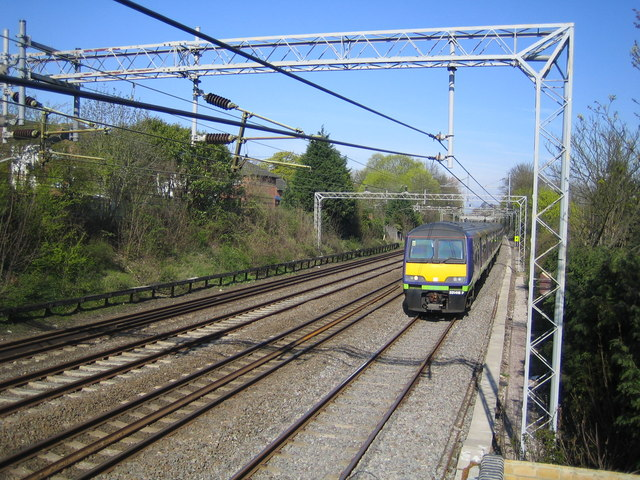 West Coast Main Line railway near Hemel Hempstead