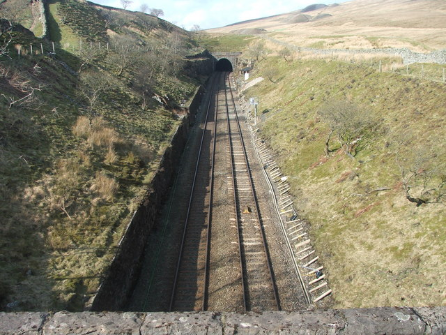 Southern end of Blea Moor Tunnel.