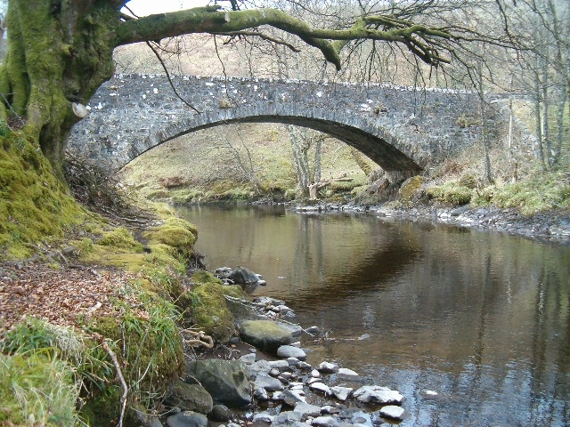 Bridge over the River Euchar at Kilninver