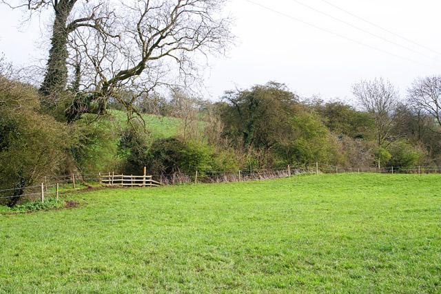 Farmland between Eastwell and Eaton