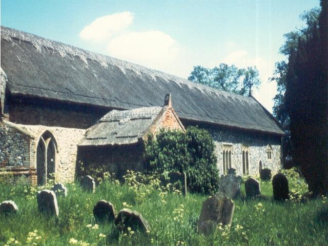 Churchyard at Burgh St Peter Staithe