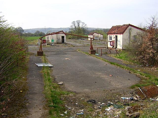 Derelict Buildings on Hurlet Road