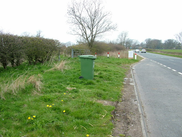 First lay-by on the A696 north of Ponteland