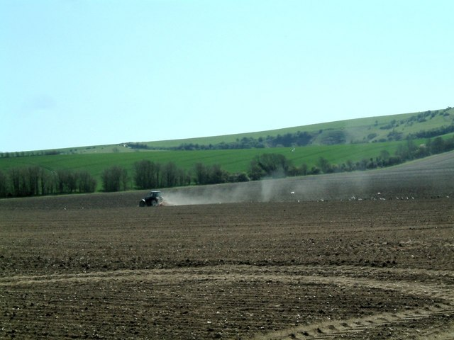 Ploughing at Iford