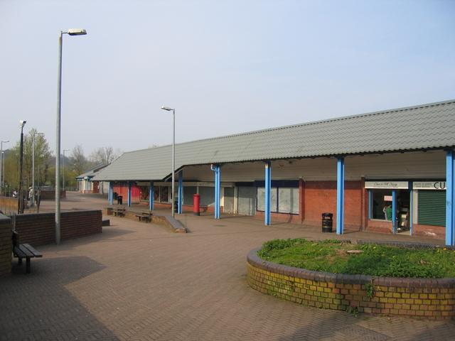 Church Hill centre, Redditch