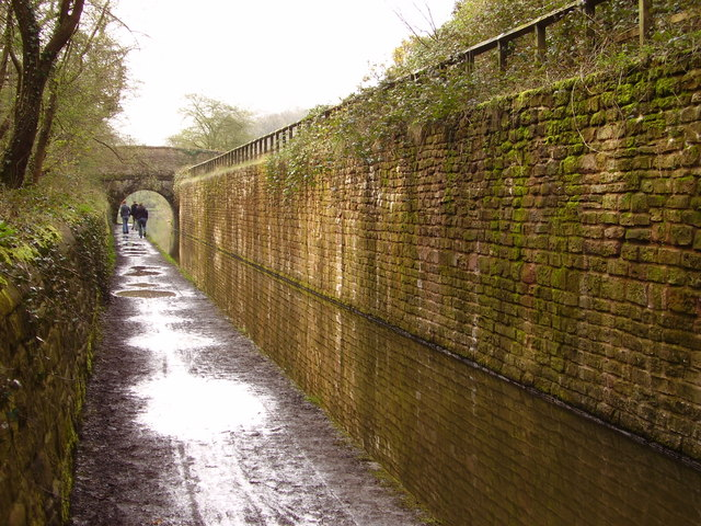 Peak Forest Canal, between Marple and Romiley