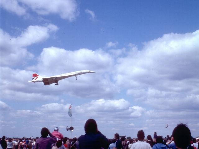 Concorde at Baginton
