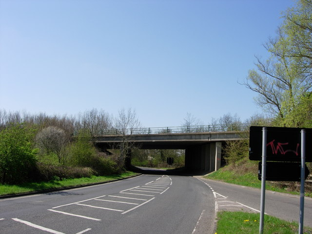 Sevenoaks/Tonbridge Bypass Bridge - Stocks Green