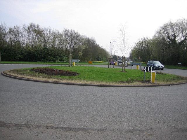 Traffic island
